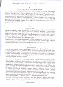 Zřizovací listina 2. strana