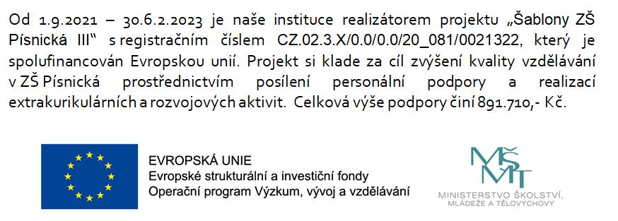 Projekty EU 2021/2022